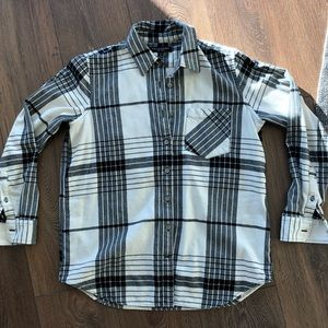 Banana Republic Plaid Flannel Button Up Shirt